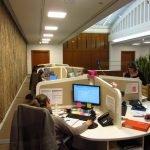 Bureaux sur-mesure pour un centre d'appel