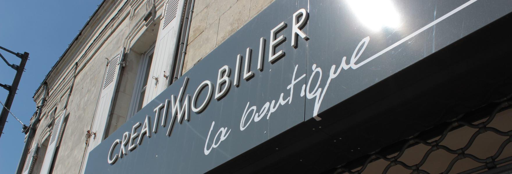 Show room Creativ Mobilier : la Boutique