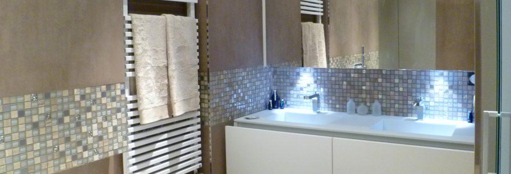 Salle de bain sur mesure bandeau