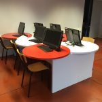 Agencement d'une salle multimédia design