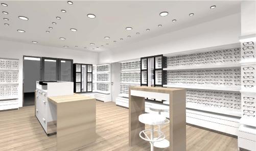 creativ mobilier agence un magasin d 39 optique en nouvelle cal donie. Black Bedroom Furniture Sets. Home Design Ideas