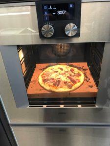 Four vapeur et Pierre à pain et pizza Gaggenau