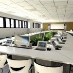table de réunion sur-mesure 40 personnes