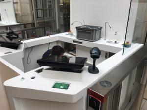 installation du mobilier Musée d'Orsay