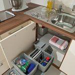 Solution de rangement dans les angles de cuisine