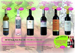 vente de vins CREATIV