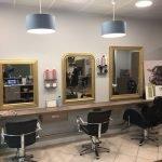 Agencement salon de coiffure près d'Angers