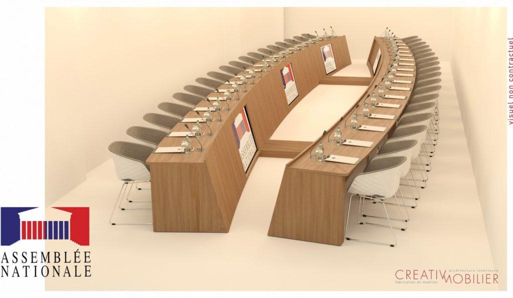 Table réunion sur-mesure