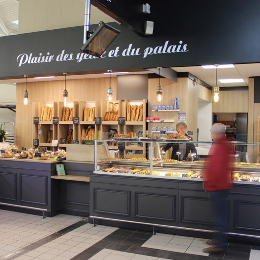 Agencement d'une boulangerie