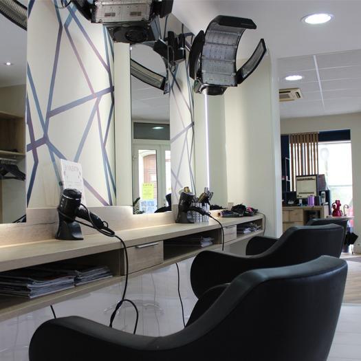 Agencement d'un salon de coiffure